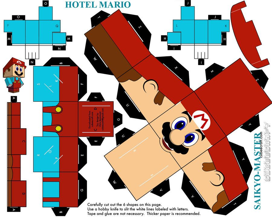 184 Best Paper Craft~Video Games Images On Pinterest | Papercraft