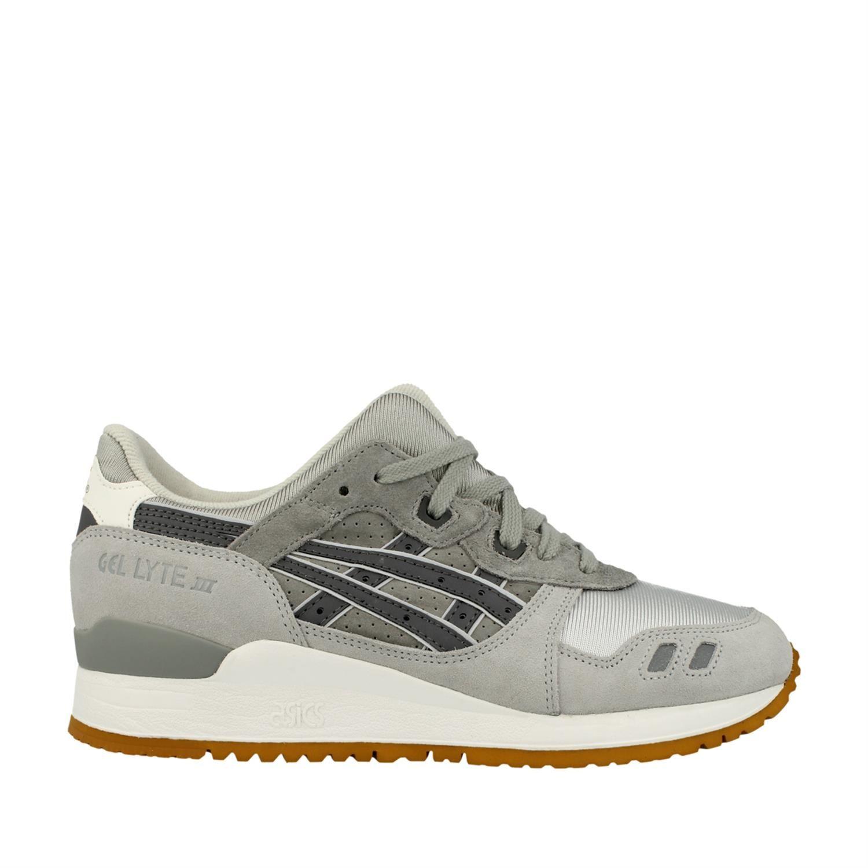 asics sneakers dames grijs
