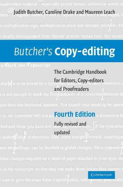 Since its first publication in 1975, Judith Butcher\u0027s Copy-editing - Copy Editor Resume