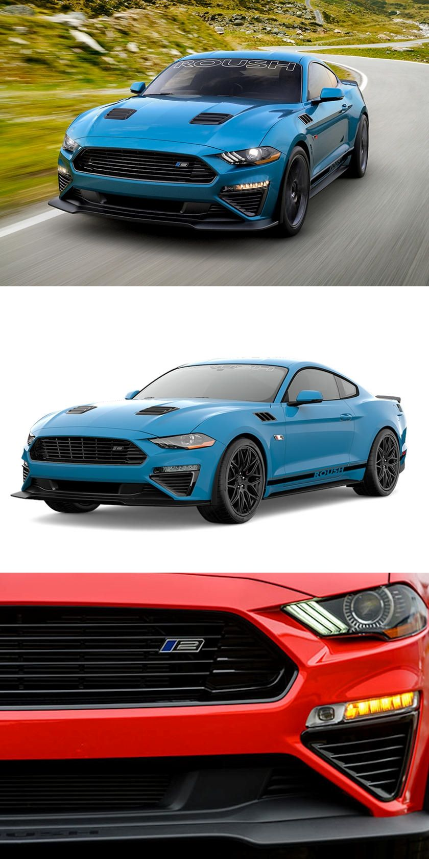 Say Hello To The 2020 Roush Stage 2 Mustang In 2020 Mustang