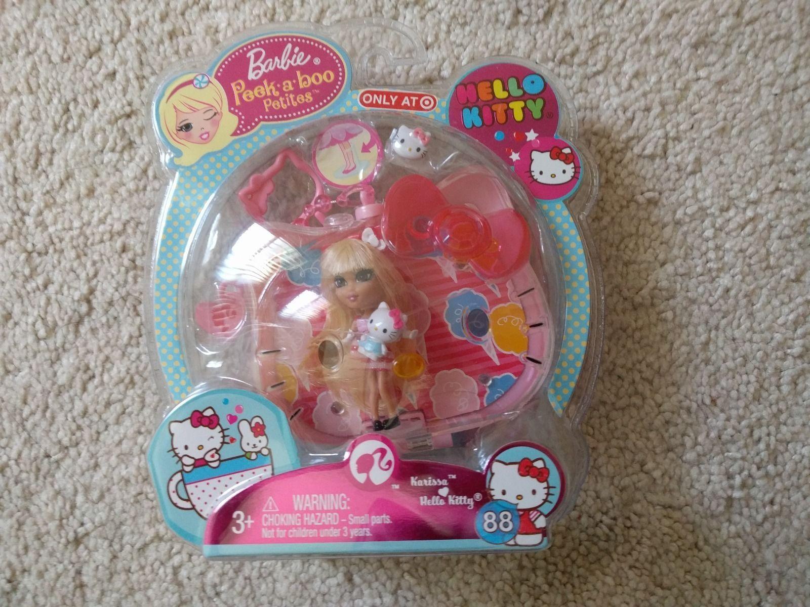 Barbie Peek A Boo Petites Hello Kitty Karissa 88 Ebay Dolls
