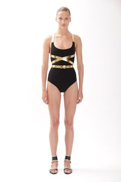 This swimsuit... by Michael Kors Resort 2012