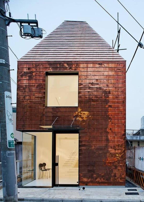 Ziegelhaus design außen copper wall cladding ideas  exterior wall cladding ideas u better