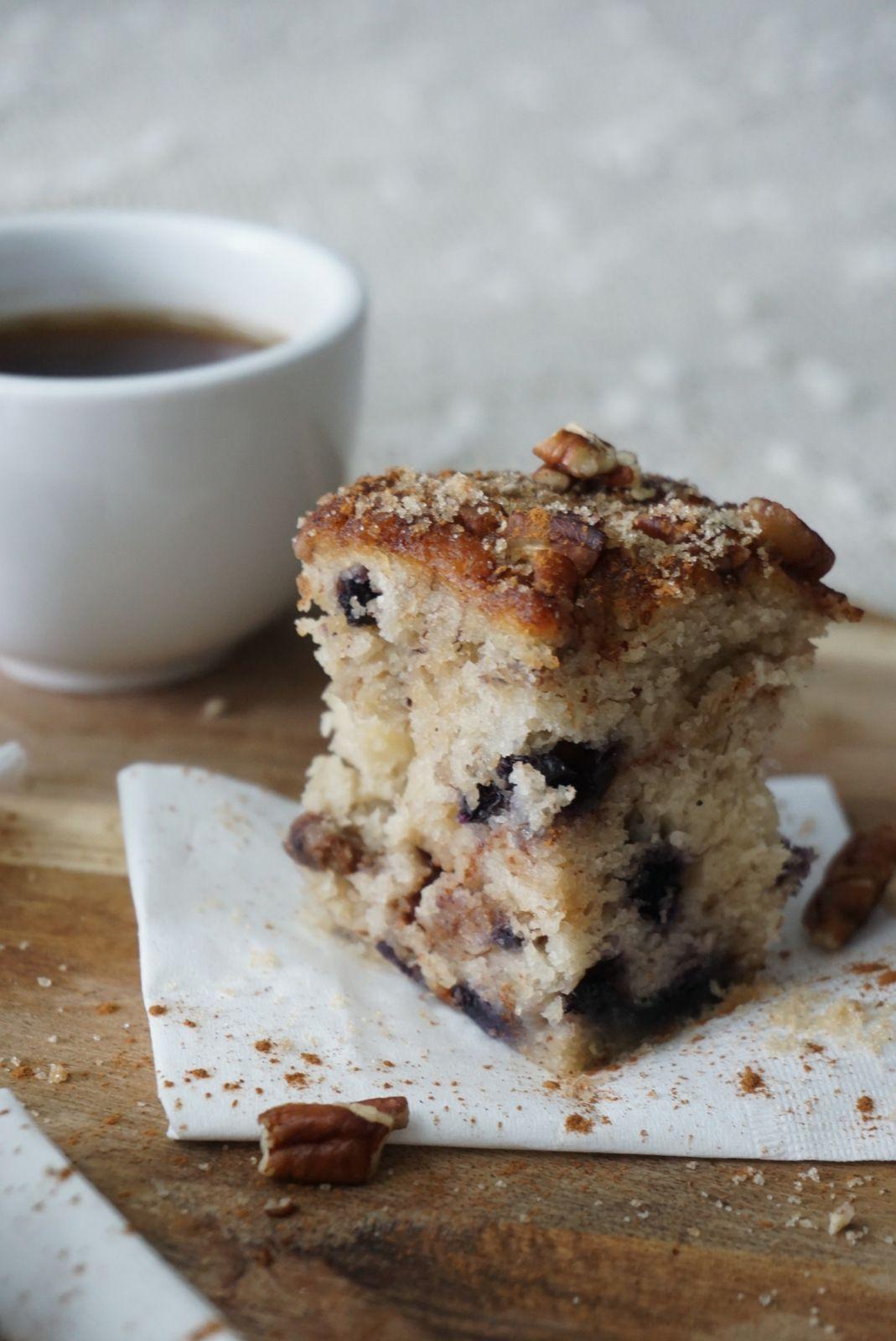 Banana blueberry coffee cake recipe blueberry coffee