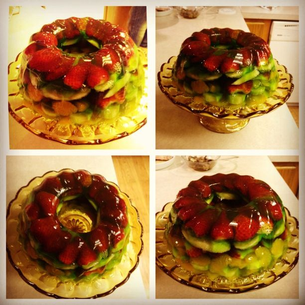Jello Fruit Cake Beautiful Easy And Most Importantly Barely Any