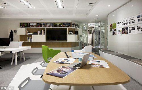 Top 15 des locaux de google les plus sympas du monde office