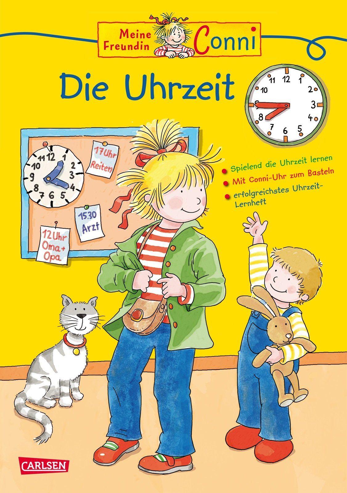 Conni Gelbe Reihe: Die Uhrzeit (Relaunch): Amazon.de: Hanna Sörensen, Ulrich Velte: Bücher