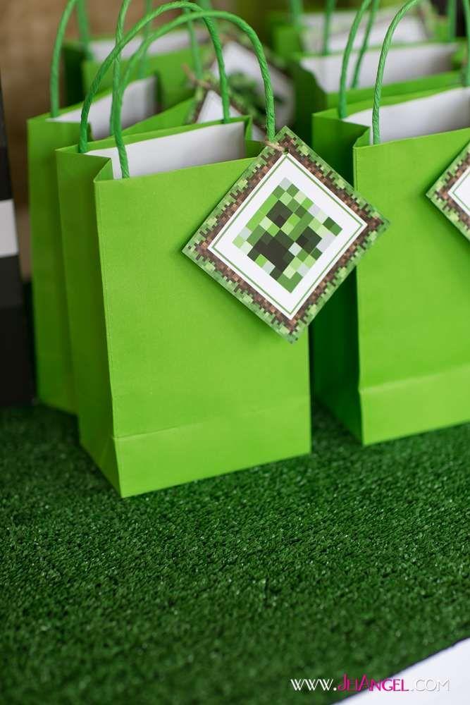 Apollo's 8th Birthday - Minecraft | CatchMyParty.com