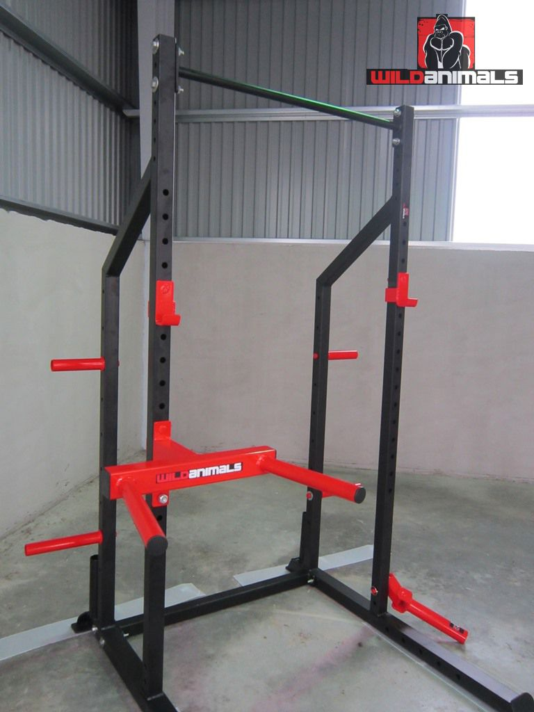 Garage Gym Half Rack Half Rack From Wildanimalsport Wildanimals Sport Pinterest