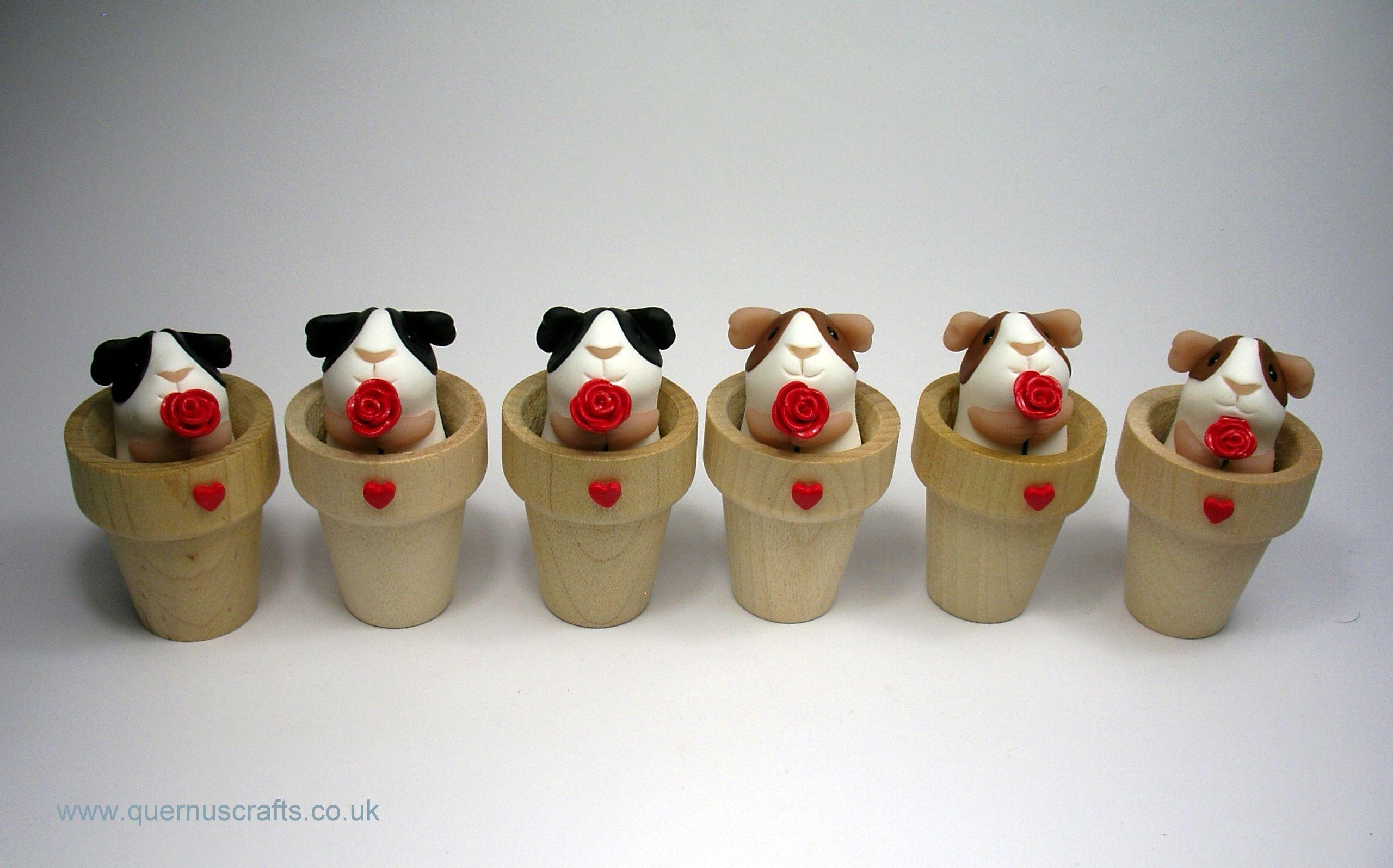 Little Flowerpot Rose Guinea Pig (£22.50)
