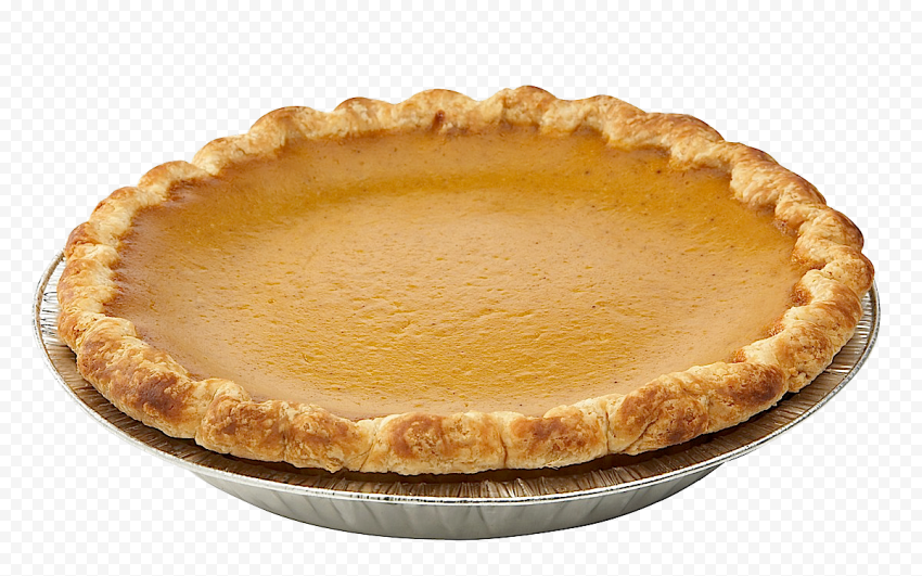 Real Round Pumpkin Pie Tart Pumpkin Pie Pumpkin Food Png