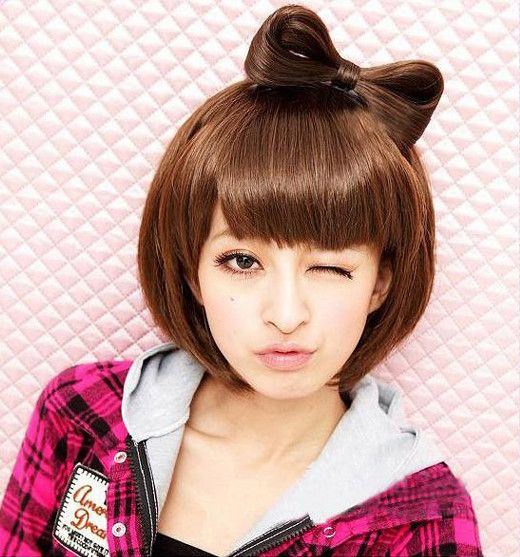 More Hello Kitty Hair Inspo At Luvlylonglocks Com Bowhair Hellokitty Hairstyles Diy Wholesale Hair Bows Wigs Cool Hairstyles