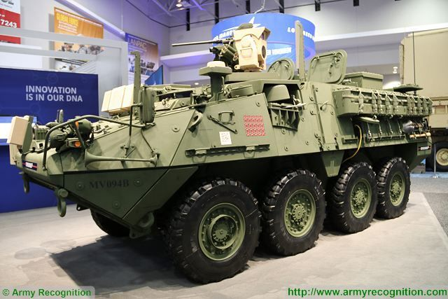 General Dynamics Stryker MEHEL 2 0 dotato di un sistema di