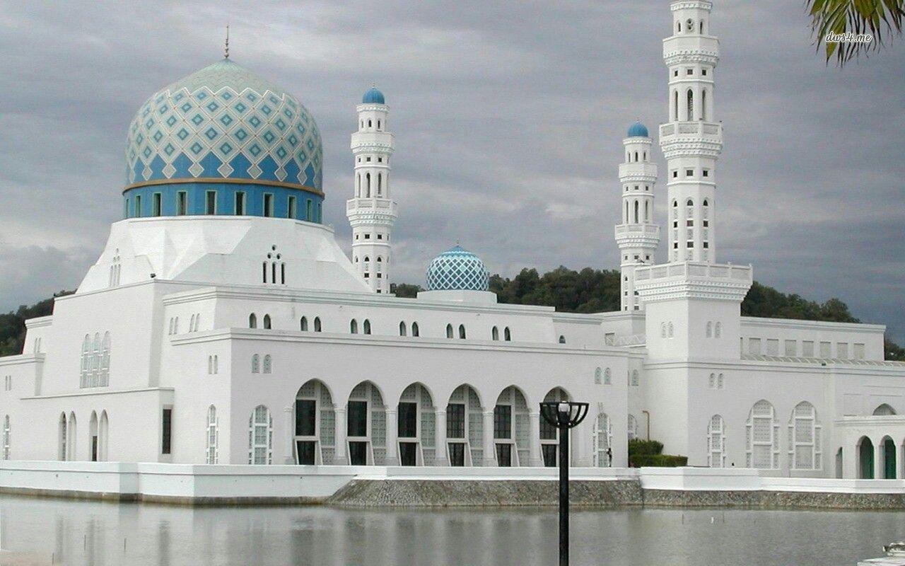 Pin by Nur Hidayah on Mosque | City wallpaper, Mosque, Kota kinabalu