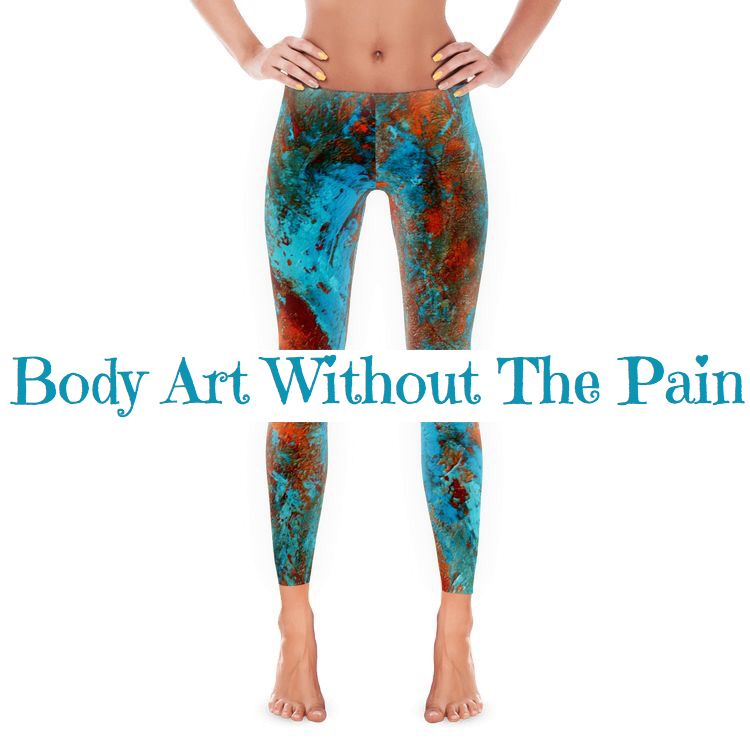 Quote. Body Art Without The Pain.