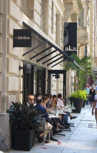 A Kitchen Bar At Aka Rittenhouse Square Brunch Spots Brunch Philadelphia