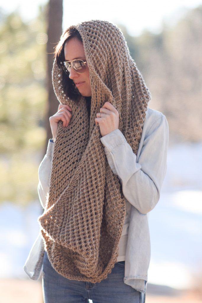 The Traveler Knit Infinicowl Scarf Pattern Knitting Patterns
