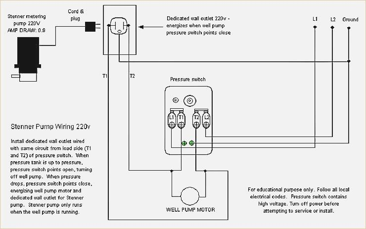 Well Pump Pressure Switch Wiring Diagram Wonderful Appearance