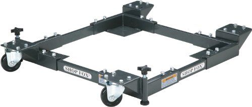 Shop Fox D2057A Adjustable Mobile Base, Small  http://www.handtoolskit.com/shop-fox-d2057a-adjustable-mobile-base-small/