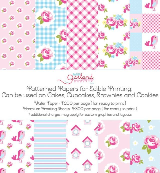 Shabby Chic Printables by Paper Garland Design Kids - Party Doll Manila