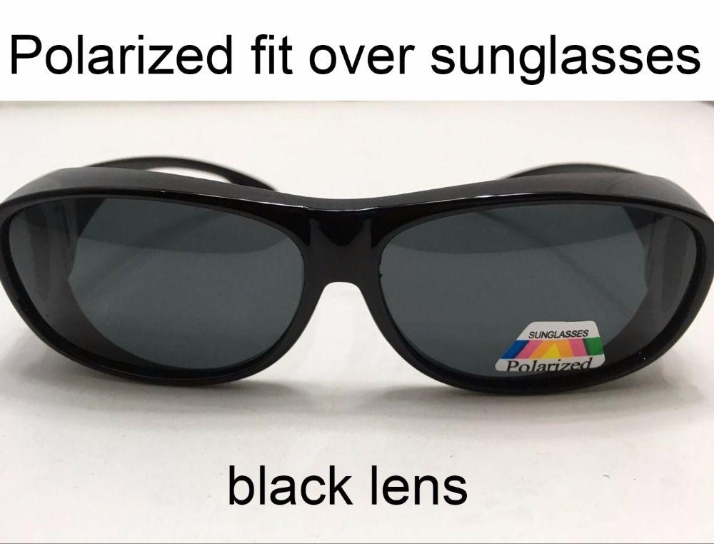 4cd8fac331d Polarized Fit Over Sunglasses Wear On Regular Prescription Glasses Filter  Sun Glare For Moypia