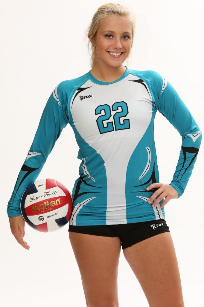 Ace Womens Sublimated Volleyball Jersey Volleyball Jerseys Volleyball Shirt Designs Volleyball Jersey Design