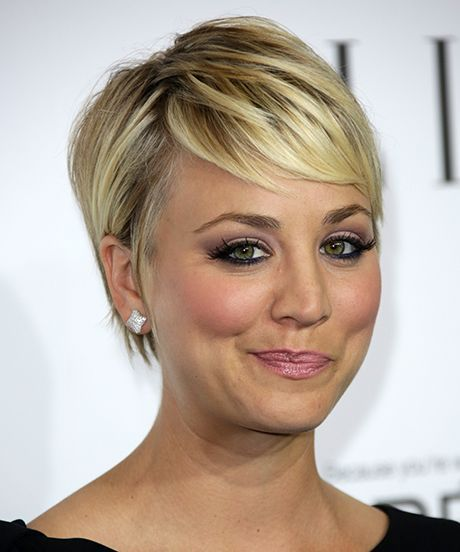 Kaley Cuoco Sweeting Responds To Feminist Controversy Gy Hairstylesshort Haircutsfine