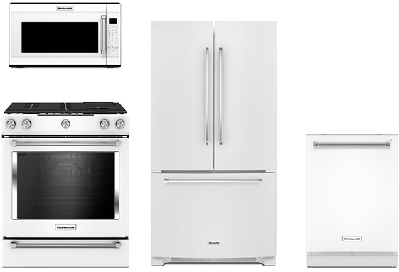 Best White Kitchen Appliance Packages (Reviews/Ratings ...