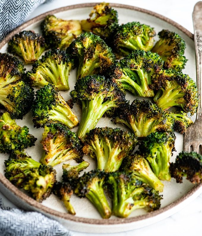 Oven Roasted Broccoli Recipe (Video)