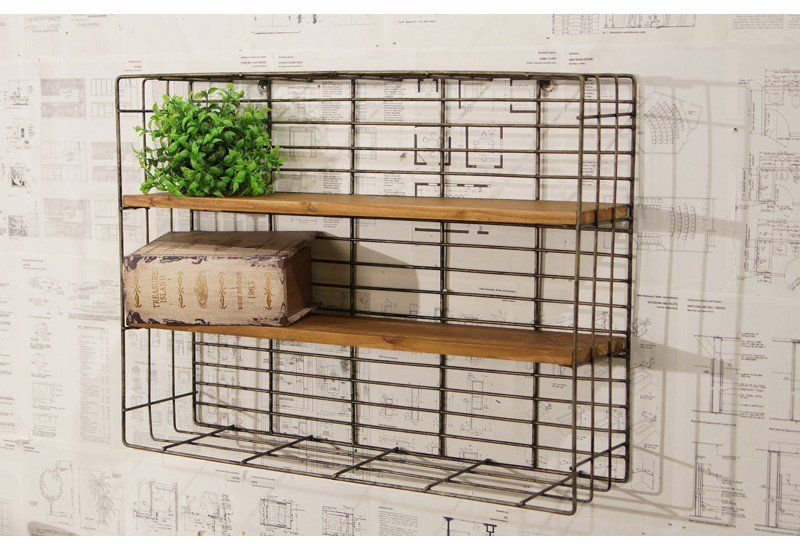 Pin By Holly Combs On Bathrooms In 2020 Wood And Metal Shelves