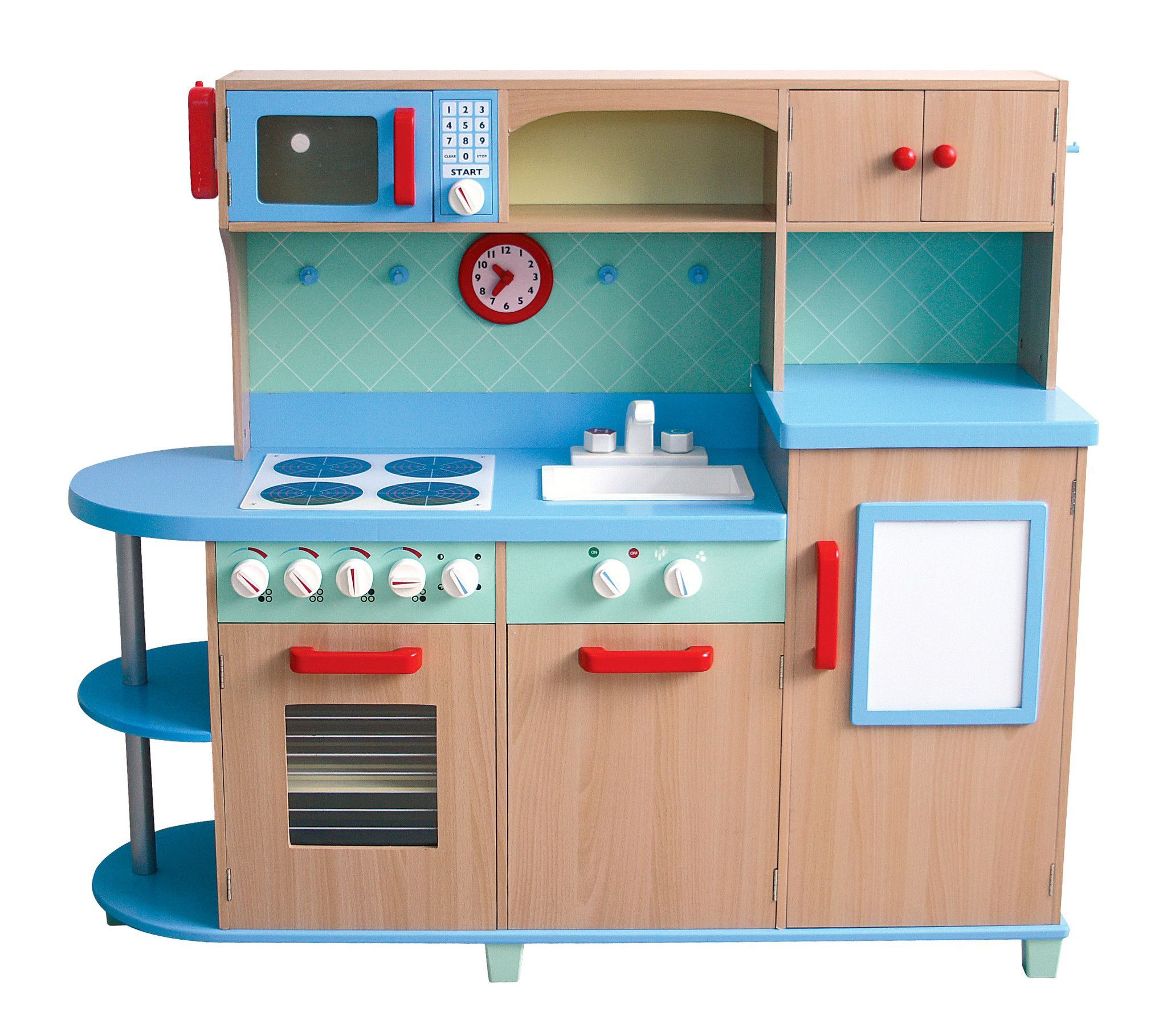 Guidecraft All in One Play Kitchen G97249 | Products | Pinterest ...