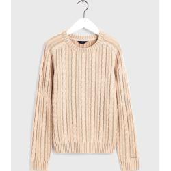 Photo of Gant Vintage Sweater mit Zopfmuster (Grün) GantGant