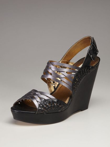 Cynthia Vincent Jaden Slingback Wedge Sandal
