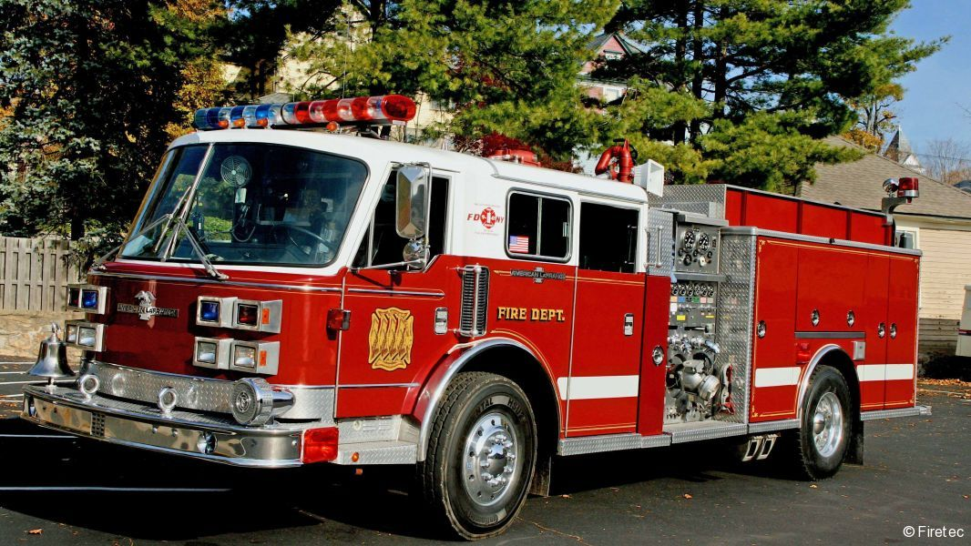 Used Fire Trucks For Sale >> Used Fire Truck 1991 American Lafrance Century 2000 For Sale At