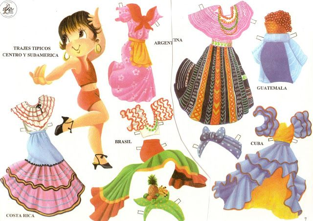 Funny paper doll