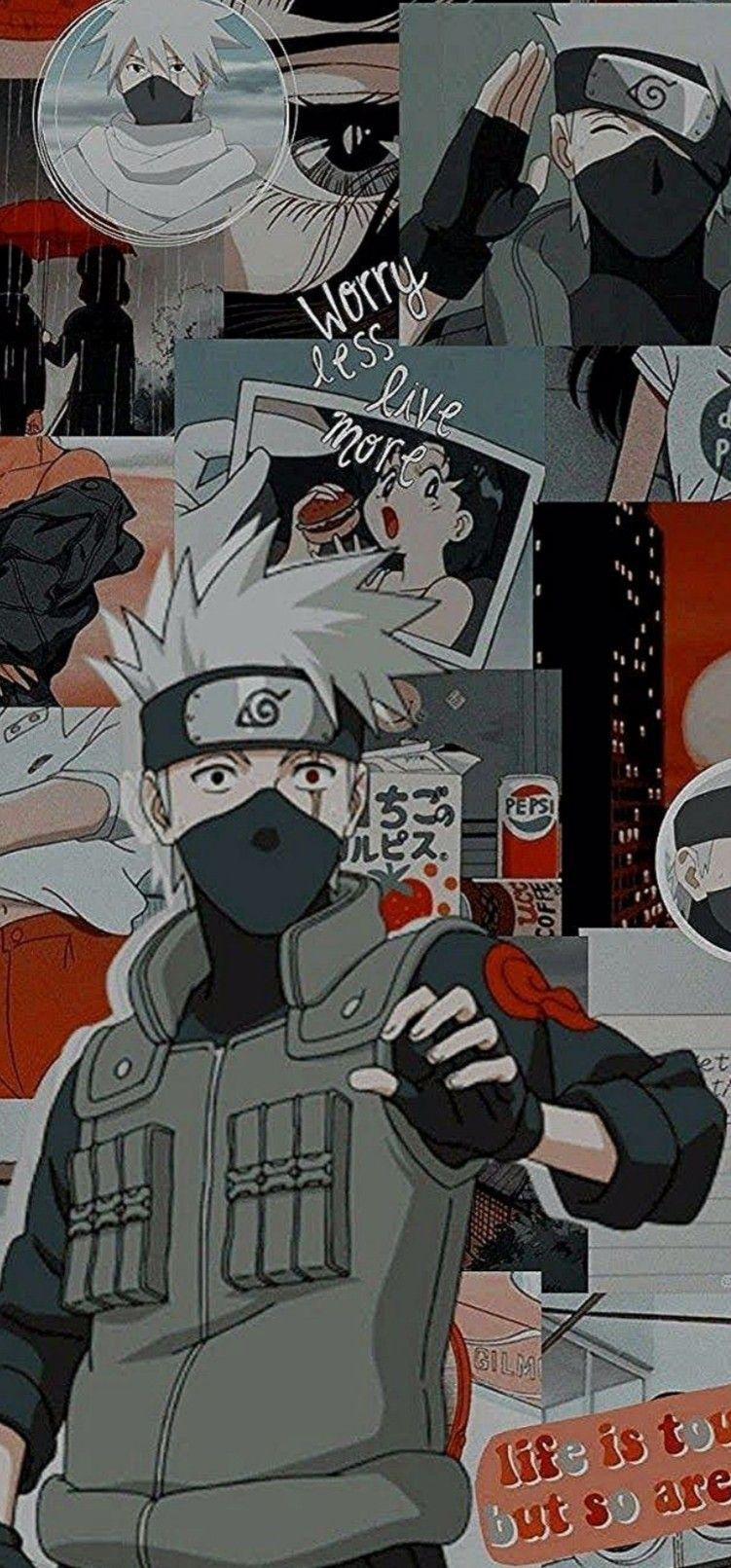 Pin by Bestielo on Fond d'écran in 2020 Naruto kakashi
