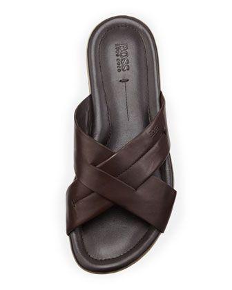 0ceaf734eb2a Boss Hugo Boss Palman Cross-Strap Sandal