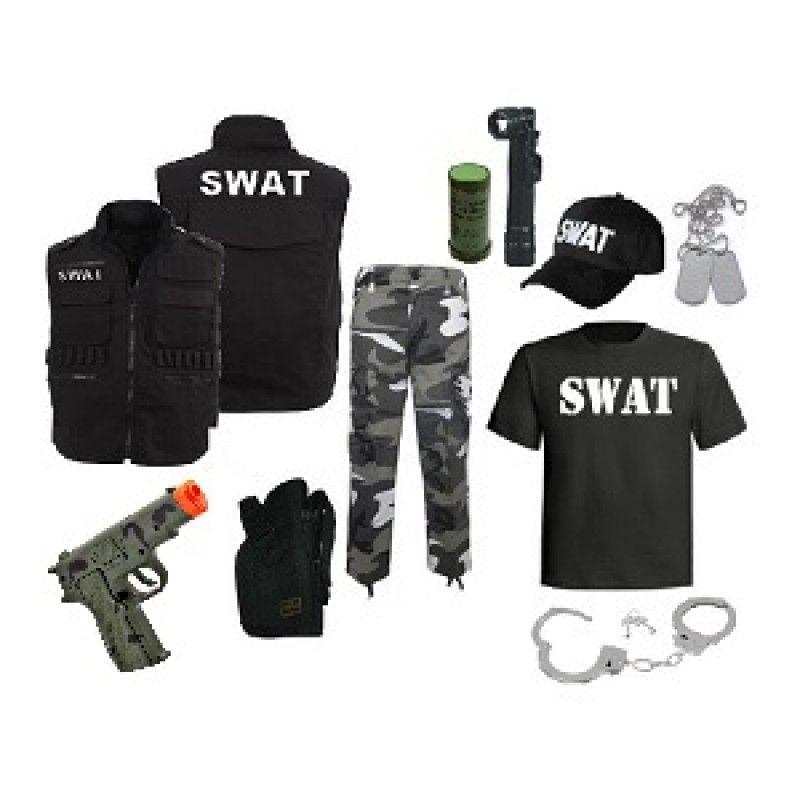 Swat Team Kids Costume With Images Swat Costume Kids Kids