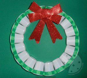 Deco Noel Avec Verres En Plastique Ou Carton 20 Idees