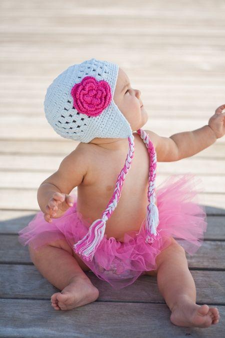 Earflap hat!