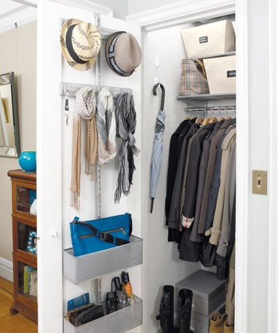 Hall Closet Organization Ideas How To Organize A Hall