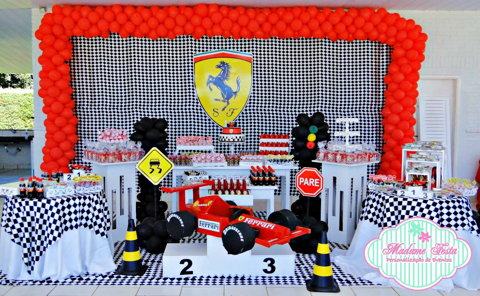 Cars Party Decorations Formula 1 Party Decorations Pesquisa Google Formula 1 Party