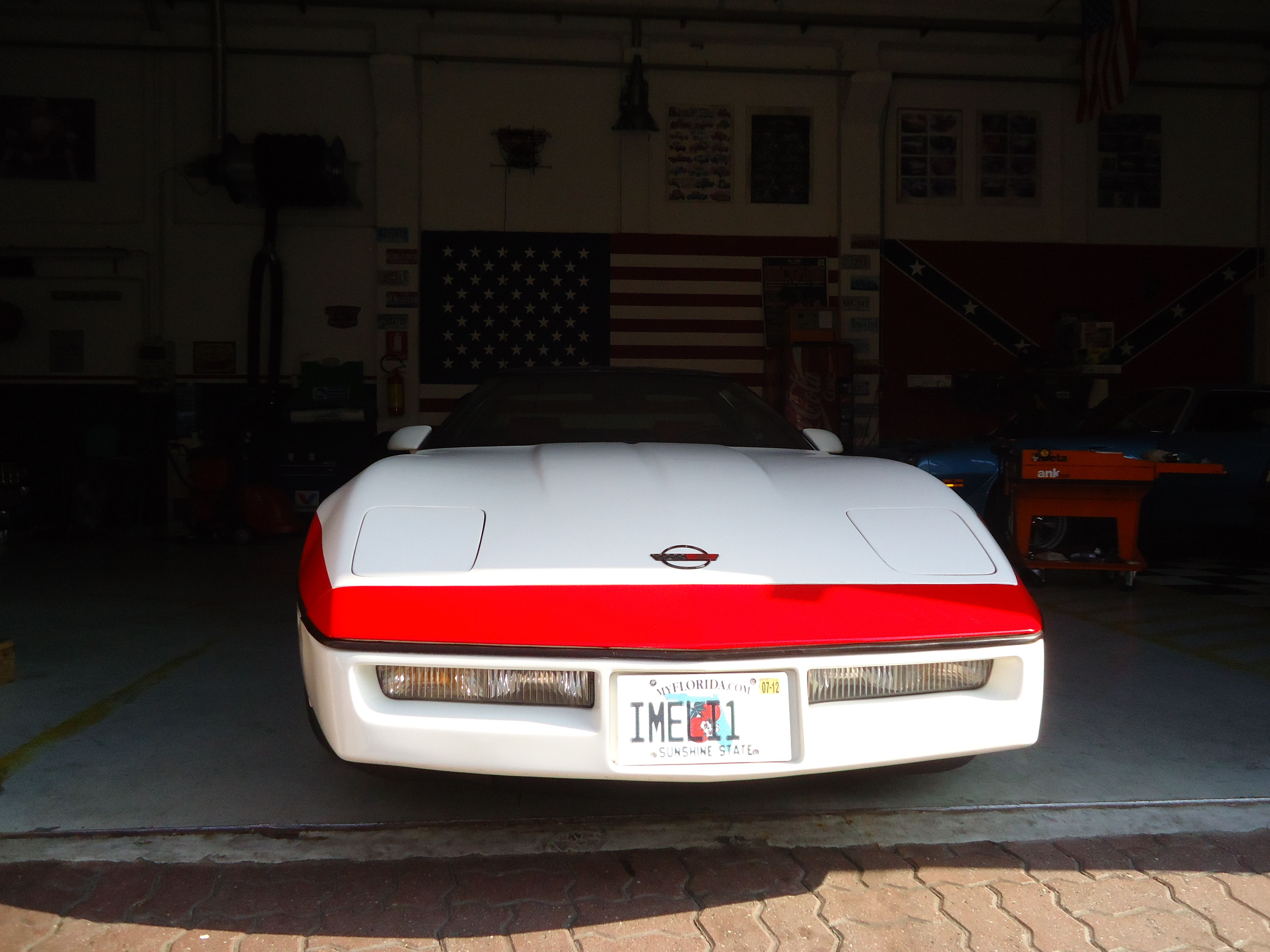 "La mia seconda Corvette C4 ""87""   "" FACE A-team ""     by: 01a-teamservice.com"