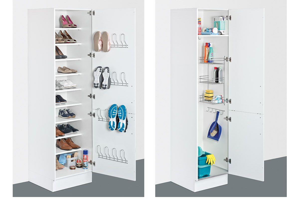 Schuhe Und Putzutensilien Aufbewahrung Im Hauswirtschaftsraum Bild 11 Hauswirtschaftsraum Kleiner Waschraum Waschkuchendesign