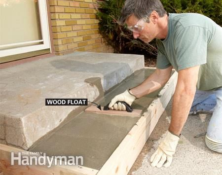 Repair Or Replace Pouring Concrete Steps Concrete Stairs