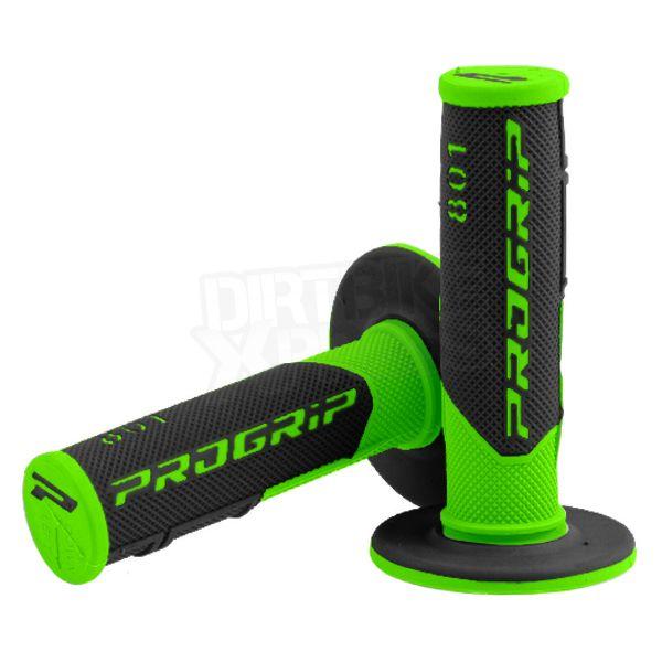 ProGrip 801 Dual Density Cross Grips - Fluo Green