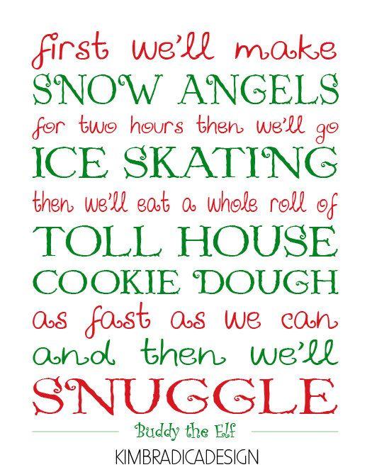 Elf Movie Quotes
