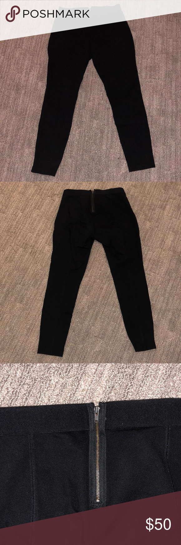 J. crew black pixie pants lightly worn Great condition. Worn a few times. Dress pants but can be worn causally for any occasions, dress up or down! PRICE NOT FIXED, OPEN FOR NEGOTIATION- just make offer. J. Crew Pants
