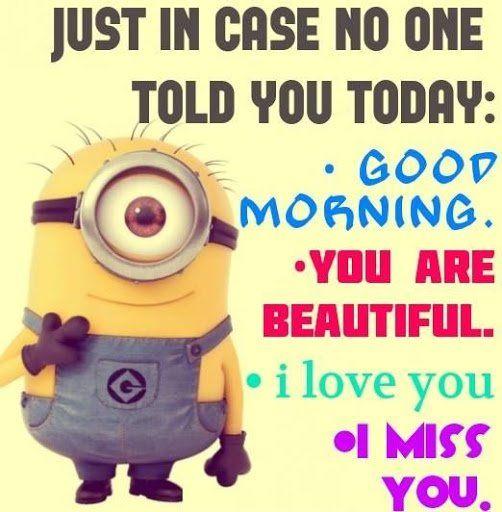 Pin By Wanda Viera On Good Morning Minion Jokes Minion Quotes Minion Love Quotes