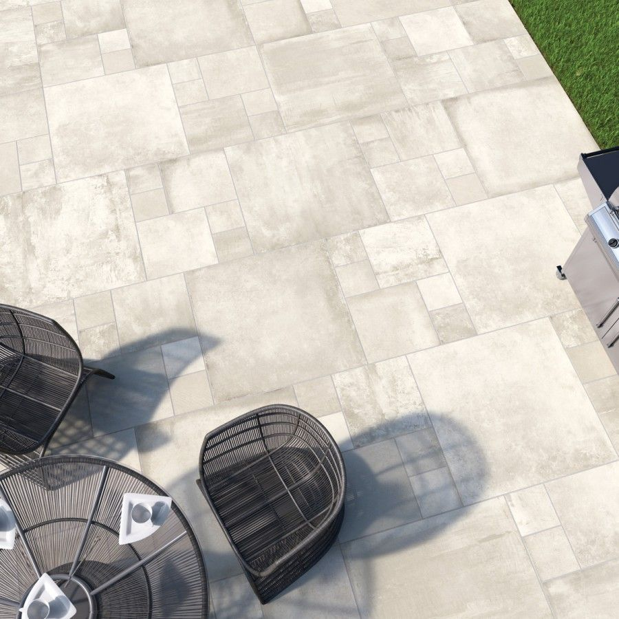 global stone paving manmade petrous premium collection crema paving slabs
